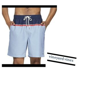 Vineyard Vines Men's Patriotic Swim Shorts Size L